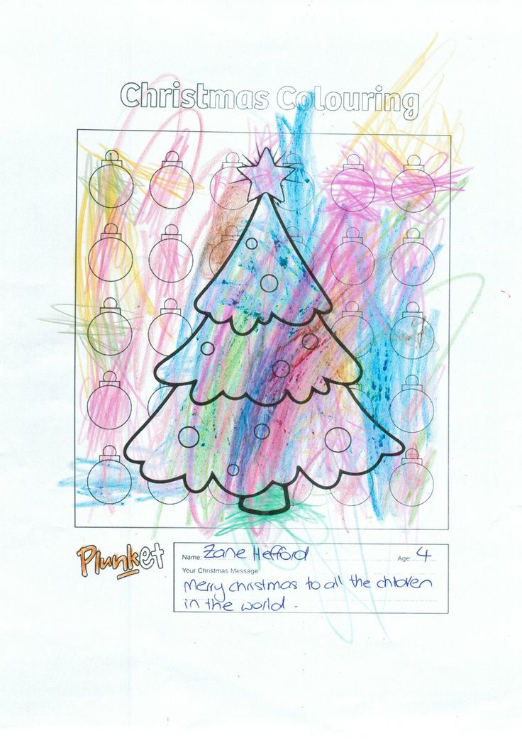 13 best Christmas Colouring Competition images on Pinterest ...
