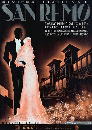 San Remo Casino, Italy. 1937  http://www.vintagevenus.com.au/vintage/reprints/info/TV629.htm