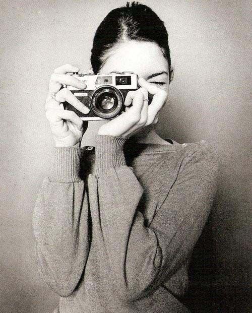 Sofia Coppola and a Canon Canonet QL 17 GIII.