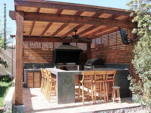 moderno+quincho+de+asados+estructura+de+madera.JPG (530×398)