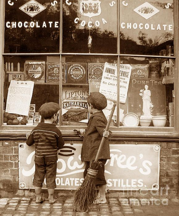 Victorian Childhood The Sweetshop England: