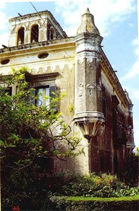Castello degli Schiavi,  Fiumefreddo di Sicilia, barocco rurale siciliano del '700.