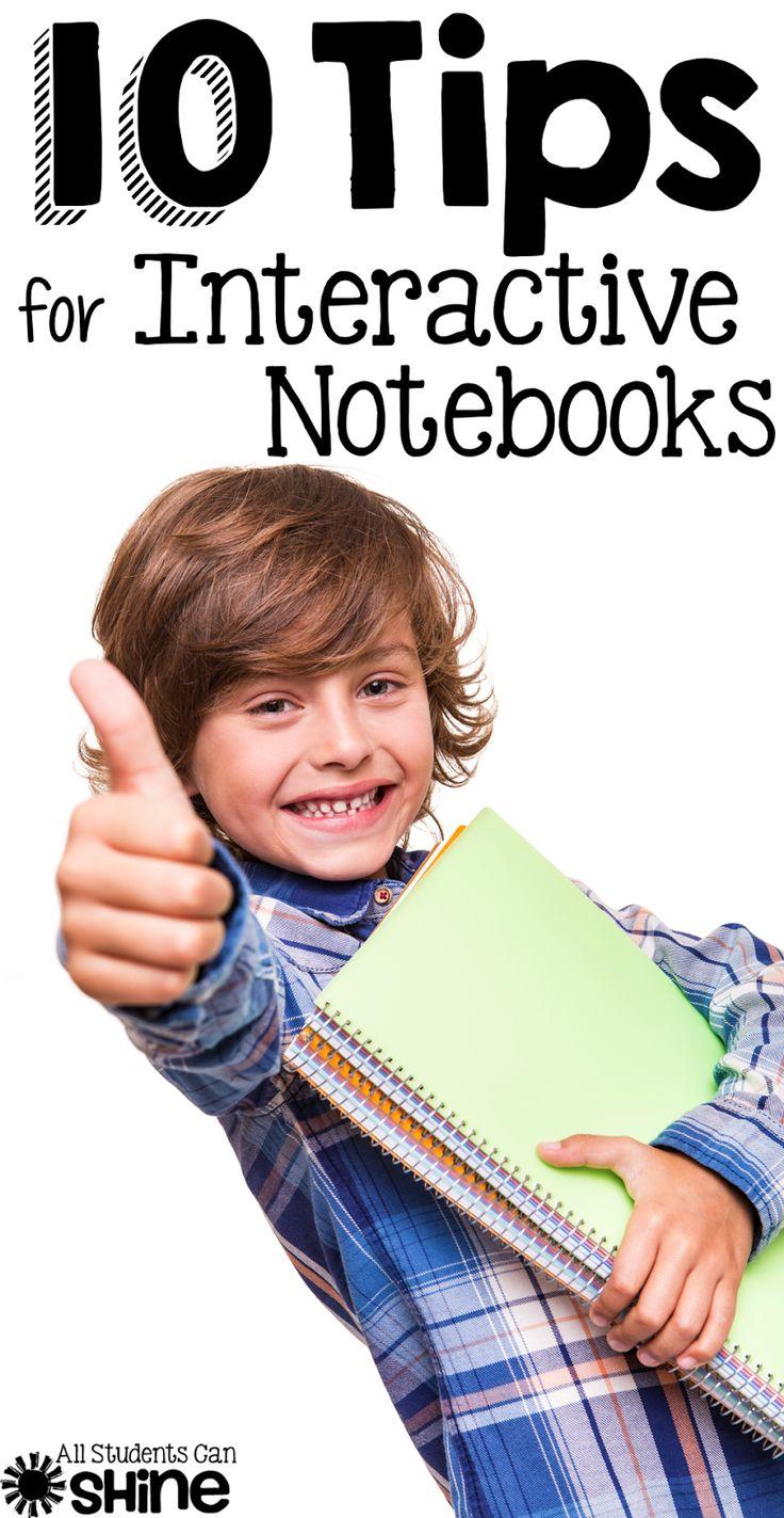 10 Interactive Notebook Tips