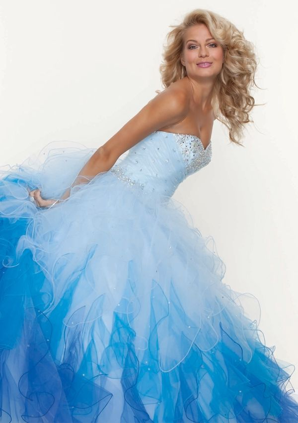 disney prom dress 2014   All About Ombre: 12 Hot Ombre Dresses For Prom 2013 (Slideshow ...