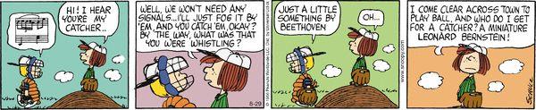 Peanuts Cartoon for Aug/29/2013