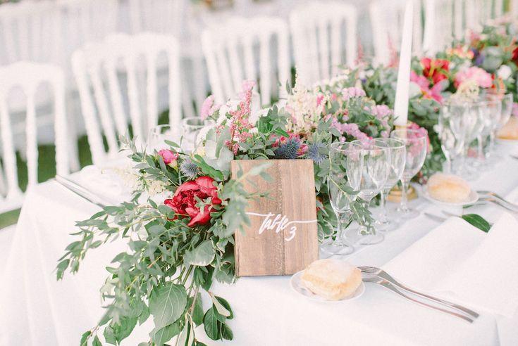 This is a luxury, romantic and elegant wedding in Provence at Chateau de la Tour Vaucros. #wedding #chateaudelatourvaucros #avignon #provence #elegant #luxury #wedding #photographer #photographe #mariage © saya photography #studioohlala #sayaphotography #church #sumptuous #ceremony #chateau-de-la-tour-vaucros #venue #chateau #france #flowers #flower #bridal #centerpieces #numbertable #table #diner #dinner