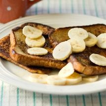 This easy vegan French toast recipe uses bananas instead of eggs, giving it a sweet flavor.