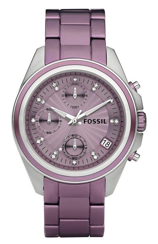 A Men's Watch Tweaked to Grace a Women's Wrist – Fossil Decker Boyfriend Aluminum Watch