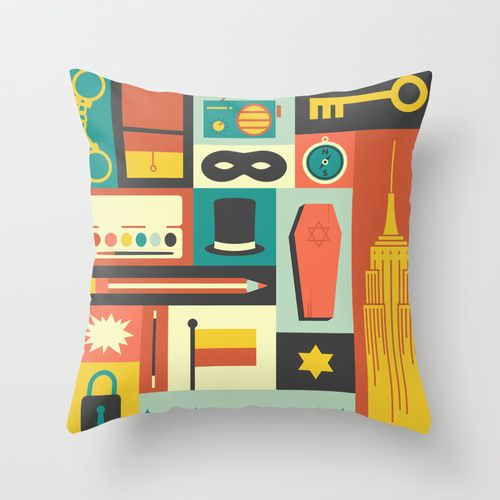 The Amazing Adventures of Kavalier and Clay Throw Pillow
