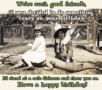 snarky ecards | girl.on.alligator.ecard med Funny Birthday ...