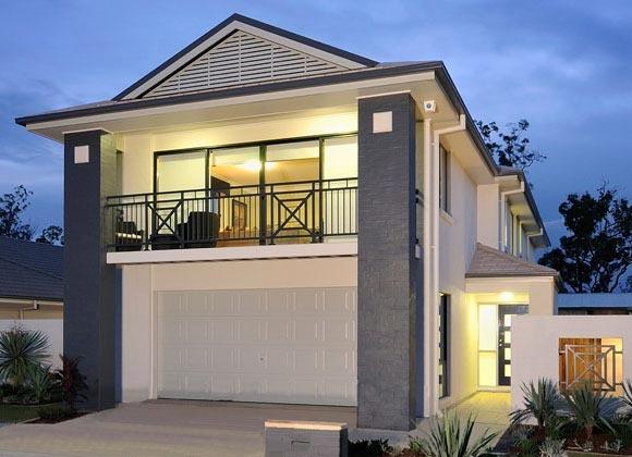 Seisuke Display Homes: Queensland - Plaza Facade. Visit www.localbuilders.com.au/display_homes_qld.htm for all display homes in Queensland