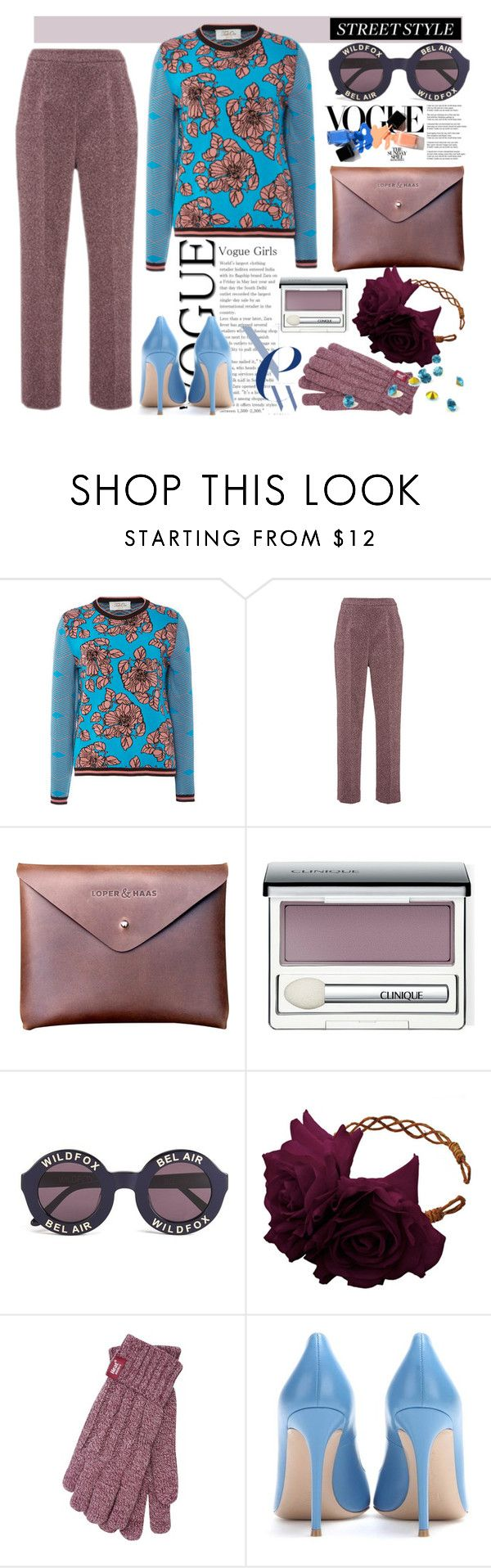 """""""Street Style by *Y"""" by ymociondesign ❤ liked on Polyvore featuring Tak.Ori, Isa Arfen, Clinique, Wildfox, Rock 'N Rose, Gianvito Rossi, Swarovski, vintage, women's clothing and women"""