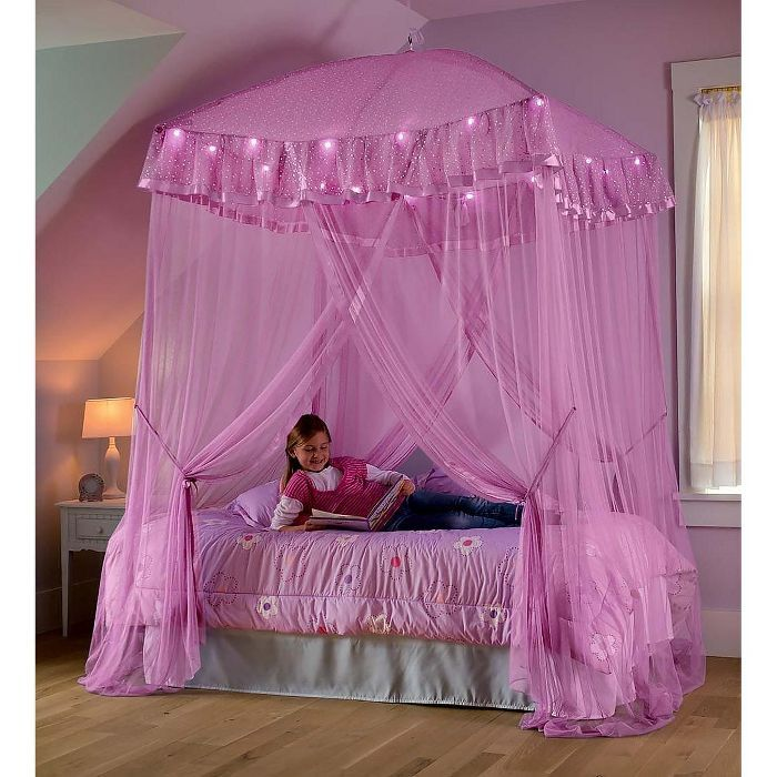 Princess Canopy Bed, Queen Size Bed Hanging Canopy