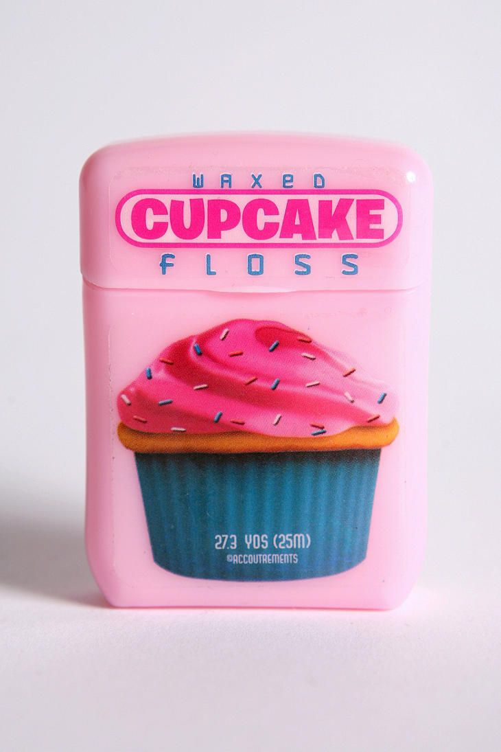 Urban Outfitters - Cupcake Floss. I would totally use this!