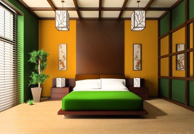 Спальня в японском стиле (фото) – атмосфера спокойствия и гармонии