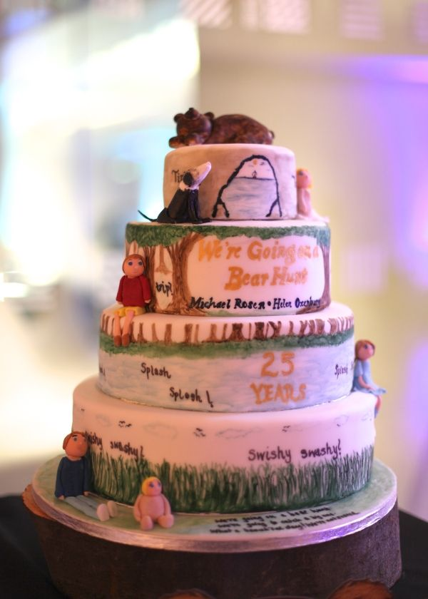 We Re Going On A Bear Hunt Cake Topper