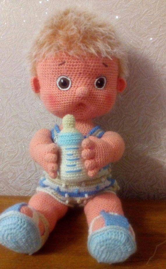Boy doll amigurumi crochet pattern | Crochet doll pattern, Crochet ... | 921x570