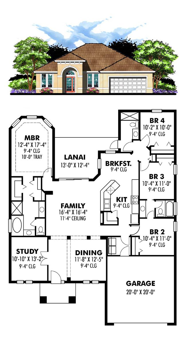 16 best Florida House Plans images on Pinterest | Cool house plans ...