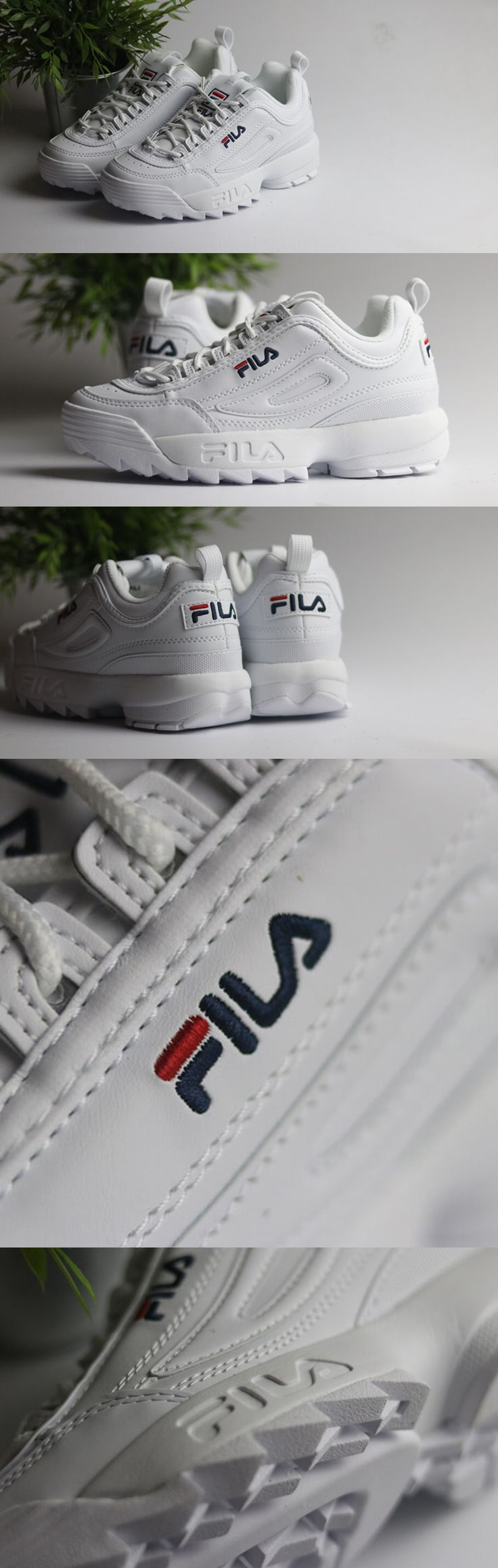 90s are back. #fila DISRUPTOR LOW sneakers for women. Now available in STORM SHOP ® Sneakers & Apparel Madrid