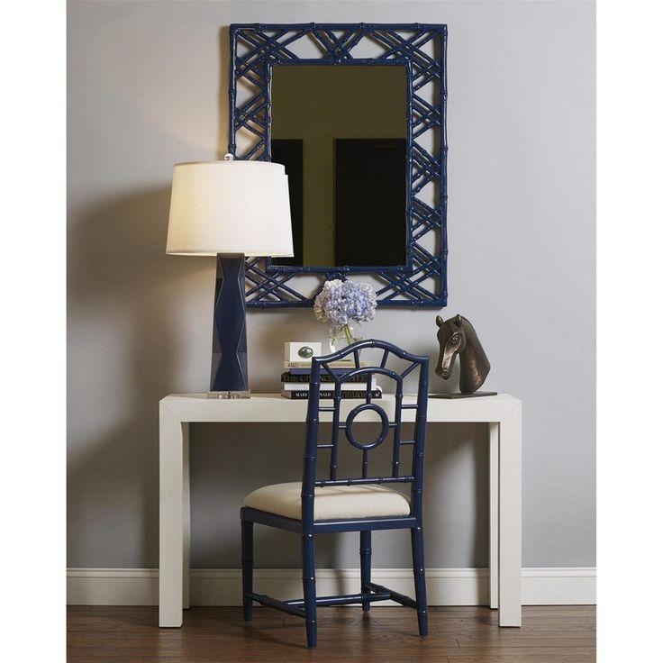 Claire Mirror, Blue #bungalow5 #mirror #interiorhomescapes #walldecor #furniture #home #design #blue