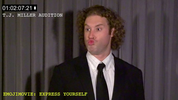 TJ Miller's 'human emoji' audition brings life to World Emoji DayTJ Millers kissy face game is strong.  Image: Twitter  By Marcus Gilmer2016-07-18 00:48:20 UTC  World Emoji Day is really a thing and it happened today.  Youll be forgiven if you missed it but one person who didnt was Silicon Valley star TJ Miller.  Many people found emoji-fueled ways to celebrate the totally real and not-at-all made up holiday.  Whats #WorldEmojiDay to a meteorologist without all of the weather emojis??…
