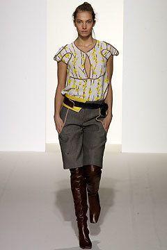 Marni Fall 2003 Ready-to-Wear Fashion Show - Consuelo Castiglioni, Jessica Miller
