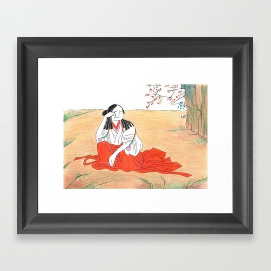 Self-portrait as a Chinese Framed Art Print