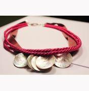 Naszyjnik Fuksja na szyję #necklace #jewelry #fashion #moda #lamoda #naszyjnik #perly #kola #pearls