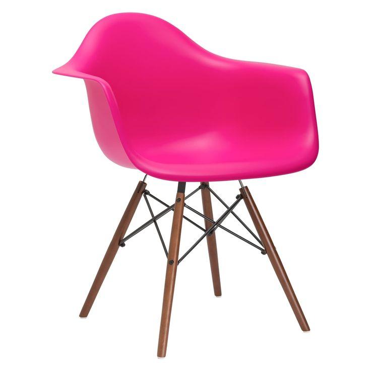 Poly and Bark Vortex Arm Chair Walnut Leg (Harbor Grey ...