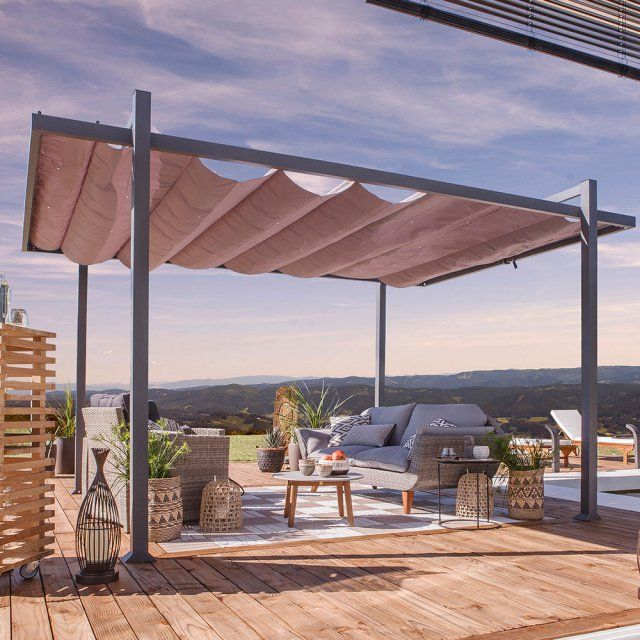 pergola bois jardin leroy merlin. Black Bedroom Furniture Sets. Home Design Ideas