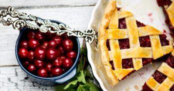 Door County Cherry Pie with Easy Vegan Pie Crust