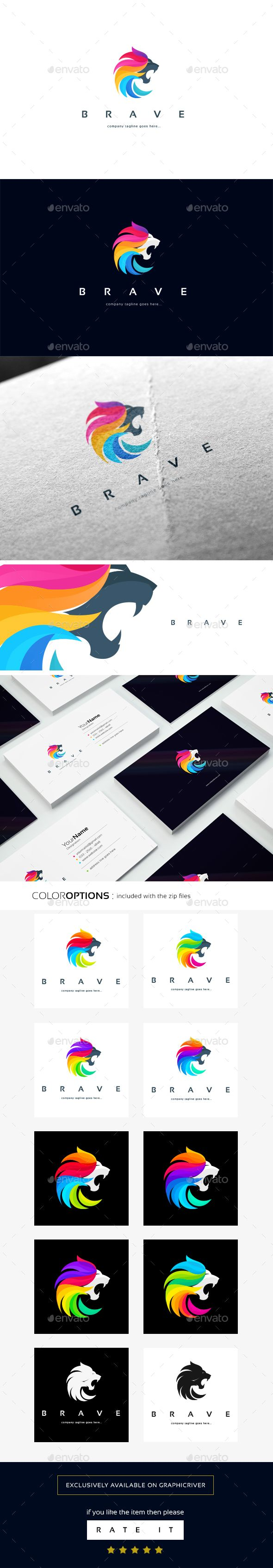 BRAVE EPS logo template • Only available here ➝ http://graphicriver.net/item/brave-logo-template/16821137?ref=pxcr