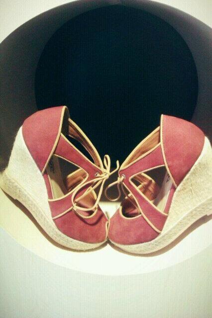 Cindy maroon @Natana Shoes