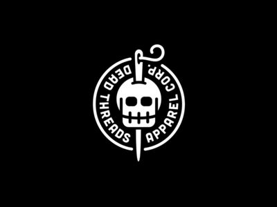 Dead Threads by Michael Spitz - Memorable Logo Design