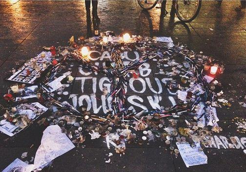 #pencilsagainstweapons #republique #lebonlebon