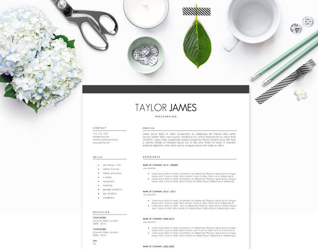 24 best Resume templates Tips images on Pinterest Resume - fashion resume templates