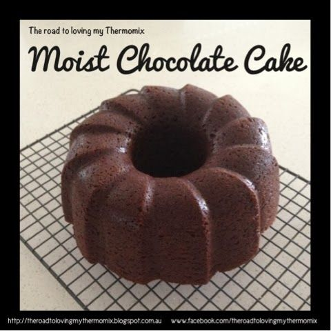 The road to loving my Thermomix: Moist Chocolate Cake