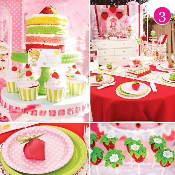 443 best strawberry shortcake birthday party images on pinterest strawberries birthday - Strawberry themed kitchen decor ...