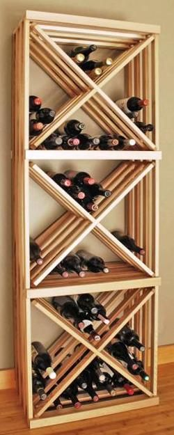 modern storage for wine bottles