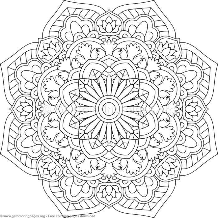 Advanced Mandala Coloring Pages Page 5 Getcoloringpages Org In 2020 Mandala Coloring Pages Mandala Coloring Abstract Coloring Pages