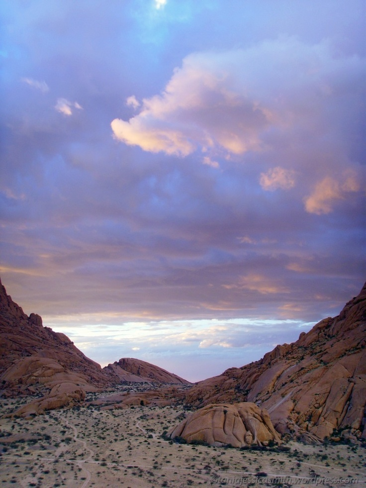 Lilac Sky, Spitzkoppe, South Africa