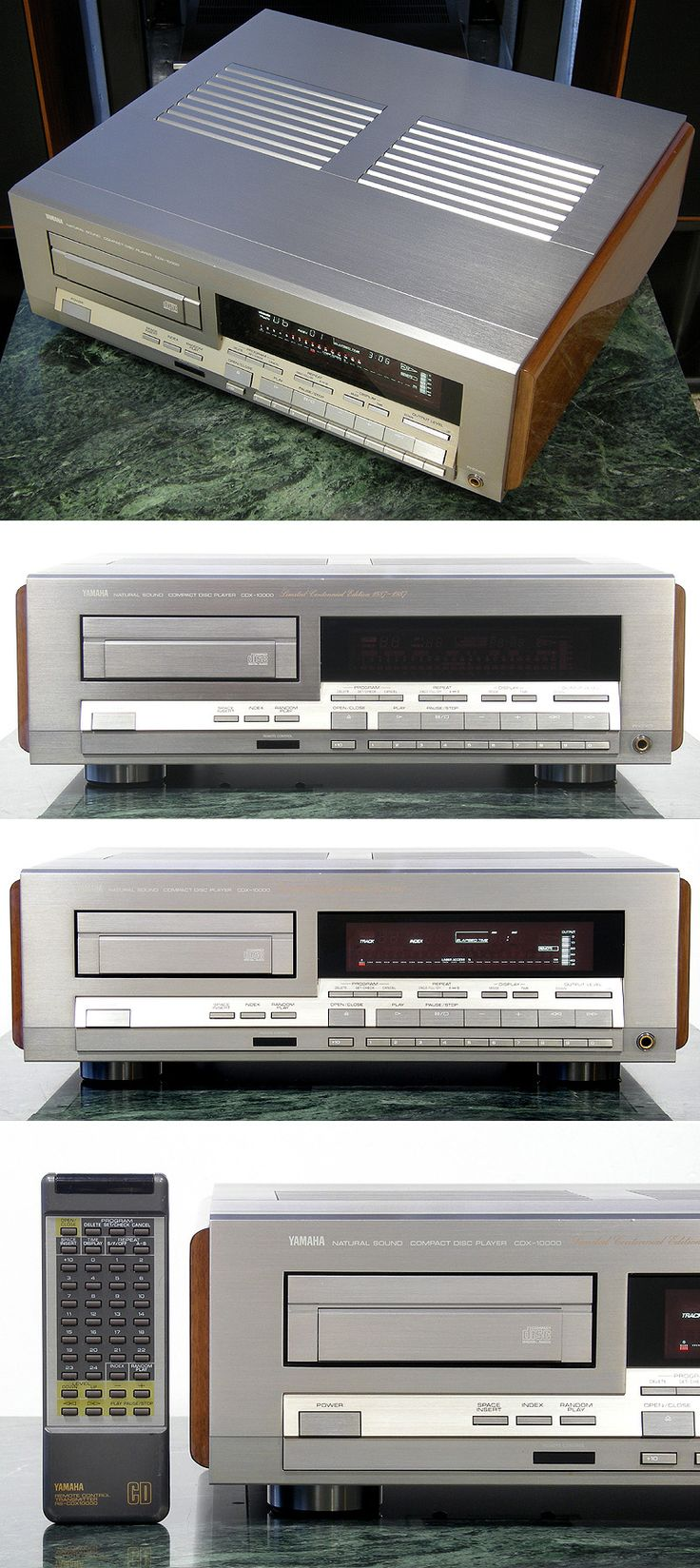 38 Best Cd Images On Pinterest Gadgets Hifi Audio And Appliances 53 Db Stereo Preamp For Tape Or Phonographs Injapanru Yamaha 100 Cdx 10000
