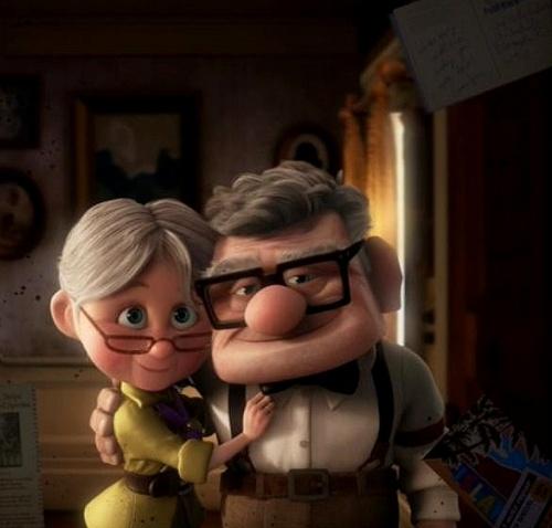 Carl & Ellie, Up by Pixar (2009)  #Up