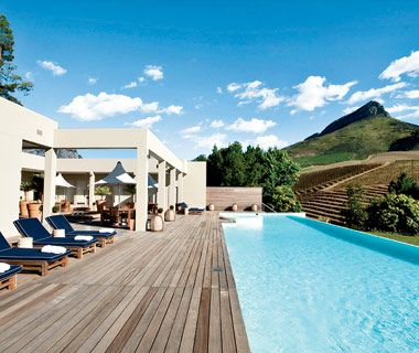Delaire Graff Lodges & Spa, Stellenbosch, South Africa British diamond jeweler Laurence Graff's sprawling 10-lodge estate adds a touch of sex appeal to the usually sedate Cape Winelands.