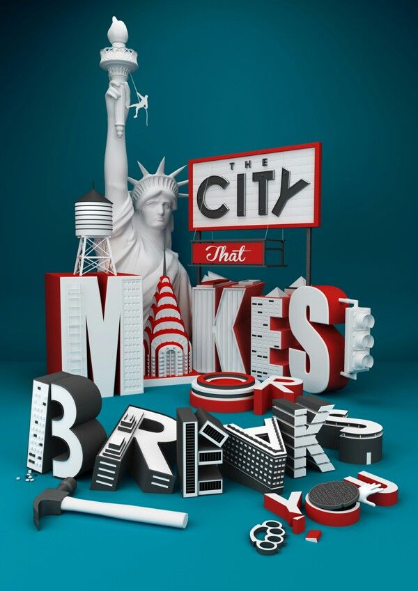 The City that Makes you or Breaks you!