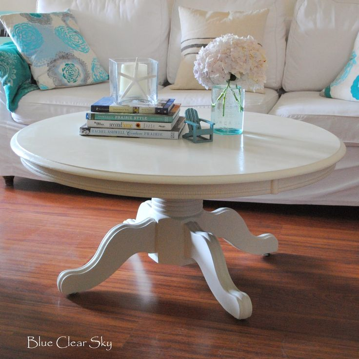 Refinish Ethan Allen Coffee Table: Best 25+ Painted Pedestal Tables Ideas On Pinterest