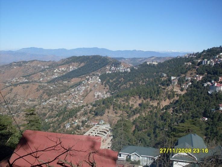 Mountain range in Shimla