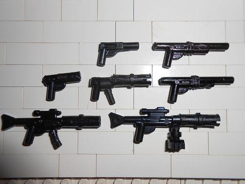 my custom lego guns
