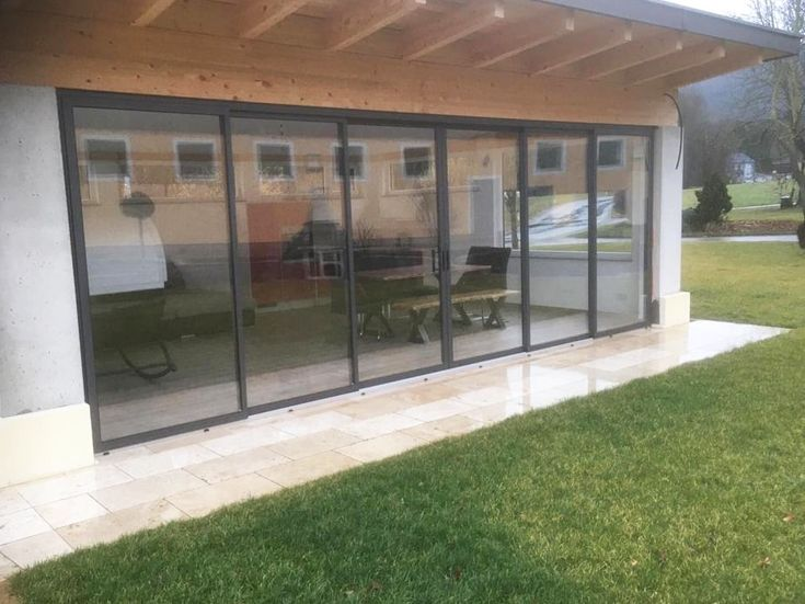 Pin auf Balkonverglasung & Terrassenverglasung