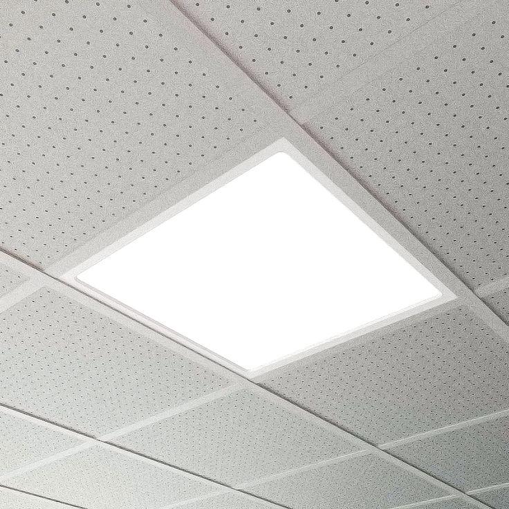 SAMOLED-Led panel 60x60, opal methacrylate diffusor, IP40 protection grade. More info: http://www.atenalux.com/?p=792&lang=en